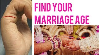 marriage line| love indications| influence line in detail palmistry | MARRIAGE AGE | palm reading screenshot 5