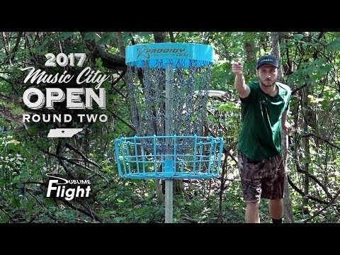 Music City Open 2017 Round 2 Disc Golf Tournament