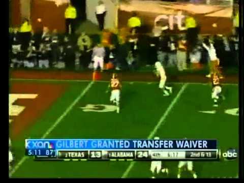 Gilbert will transfer from UT