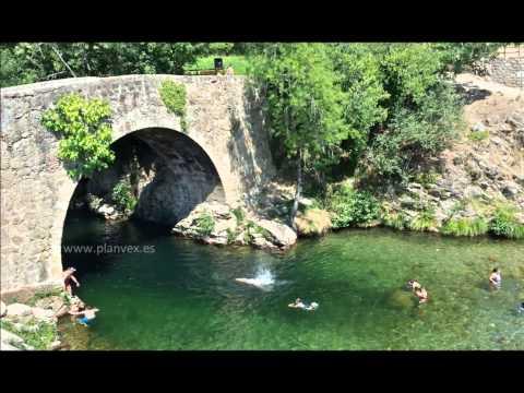 PlanVE presenta las piscinas naturales del norte de Extremadura