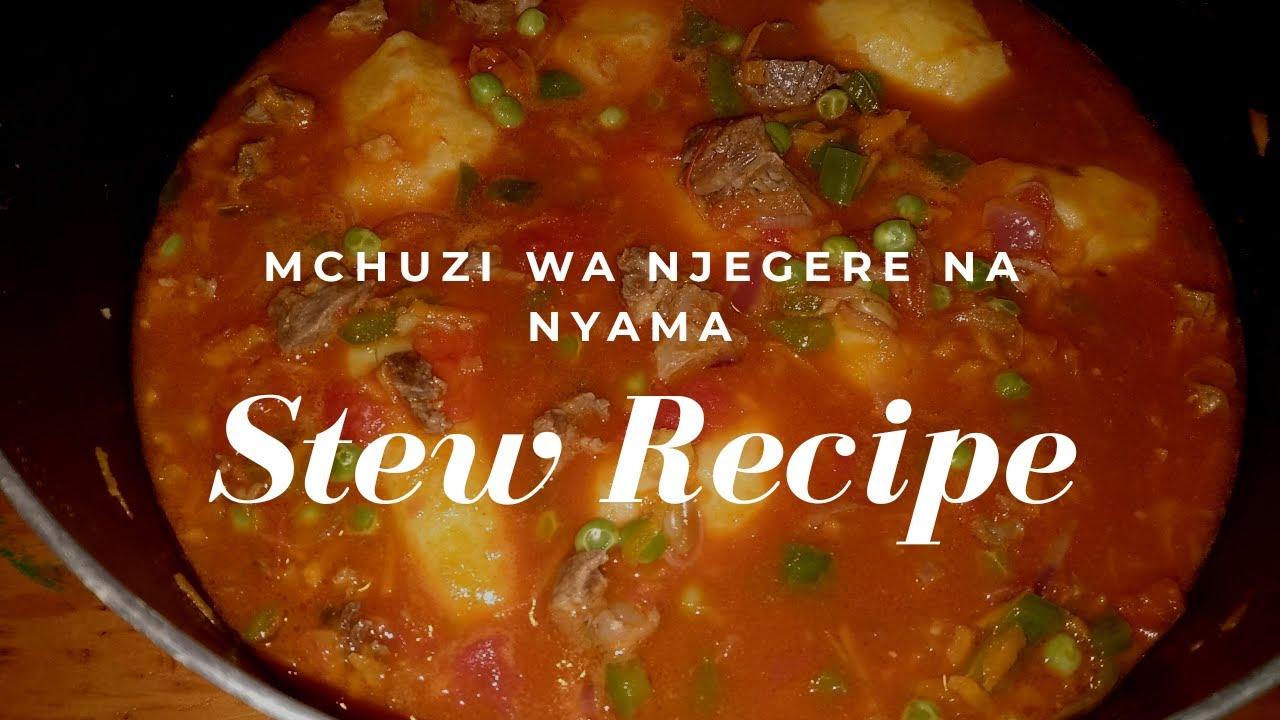 Download MCHUZI WA NJEGERE NA NYAMA 😋ROSTI LA NYAMA||How to cook mchuzi wa nyama| Beef stew recipe