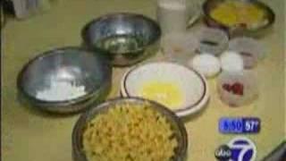 Kisco Kosher Deli - Making Noodle Kugel