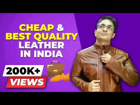 CHEAPEST but BEST Leather Market in ASIA - Dharavi Leather Market Tour & Guide | BeerBiceps