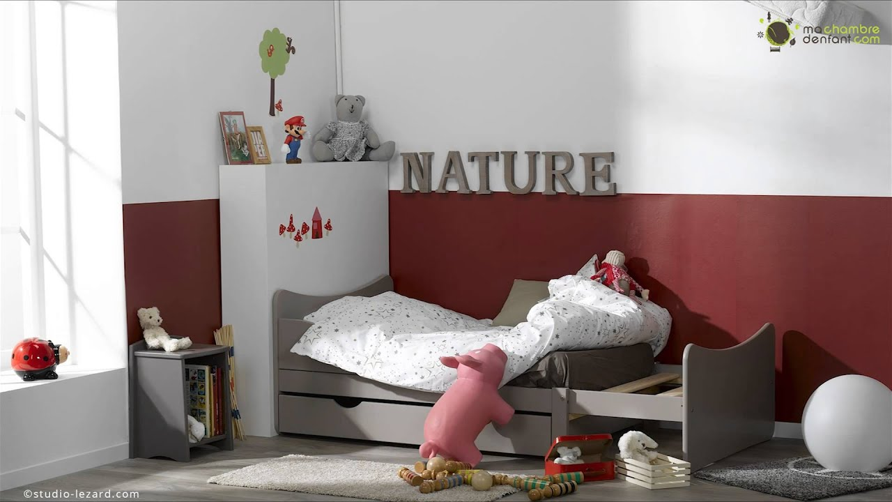 lit enfant volutif ivoo ma chambre d 39 enfant youtube. Black Bedroom Furniture Sets. Home Design Ideas