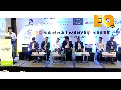 Developers Session at EQ Solartech Leadership Summit, New Delhi - Part 1