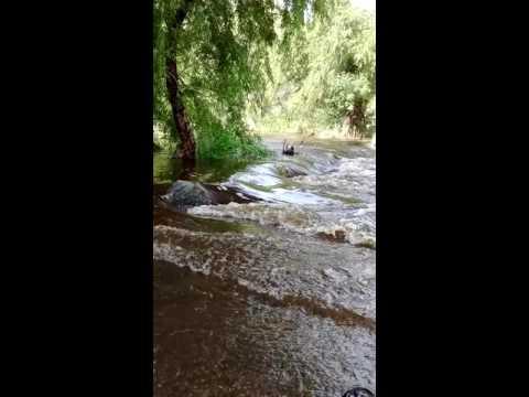Flooding Sabino Canyon, Tucson