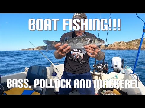 Boat Fishing In Guernsey - Bass, Pollock And Mackerel!