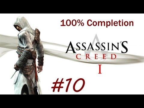 """Assassin's Creed 1"", HD walkthrough (100% + Subtitles), Memory Block 6 - Funeral (Jerusalem)"