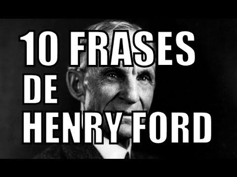10 frases de henry ford