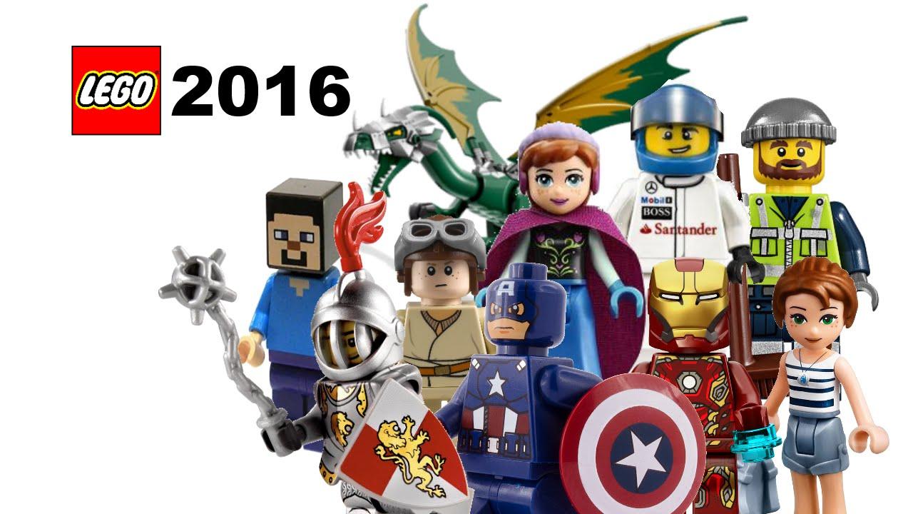 LEGO Knights Nexo, Marvel, DC, Speed Champions 2016 sets ...