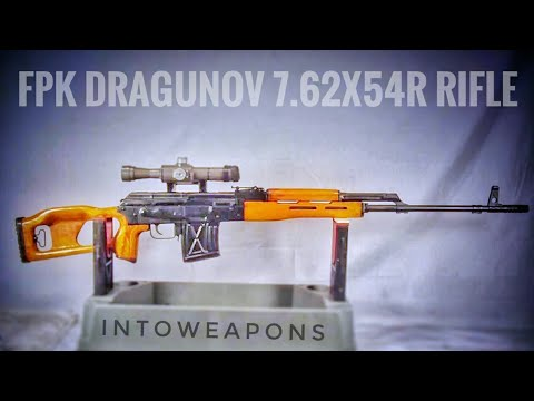 FPK Dragunov 7 62x54r Rifle: Review & Shooting