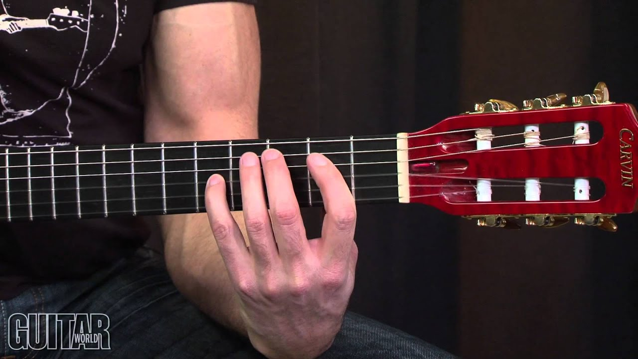 Metallica Lesson The Unforgiven Intro Part 1 Youtube