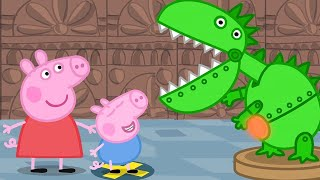 Peppa Pig Full Episodes | Peppa and George's Trip to the Museum!