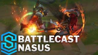 Battlecast Nasus Skin Spotlight - Pre-Release - League of Legends