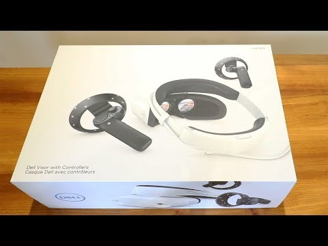 Dell Windows Mixed Reality Headset Unboxing