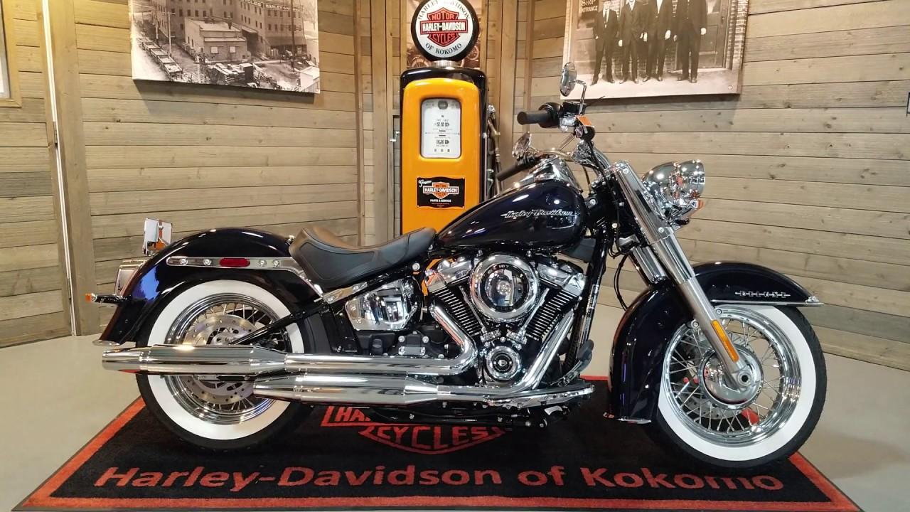 Harley Davidson Deluxe >> 2020 Harley Davidson Softail Deluxe Flde Midnight Blue