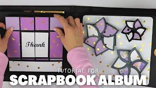 Large Scrapbook Tutorial | SCRAPBOOKING IDEAS