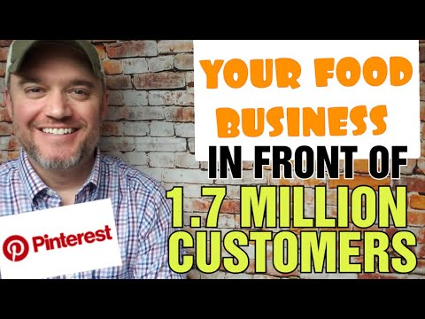 Pinterest Marketing for Your Food Business [ Get 1.7 MILLION VIEWERS see your product]