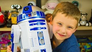 Star Wars Toys R2-D2 Interactive Robotic Droid R2D2 Toy Robot Toys Disney Kinder Playtime