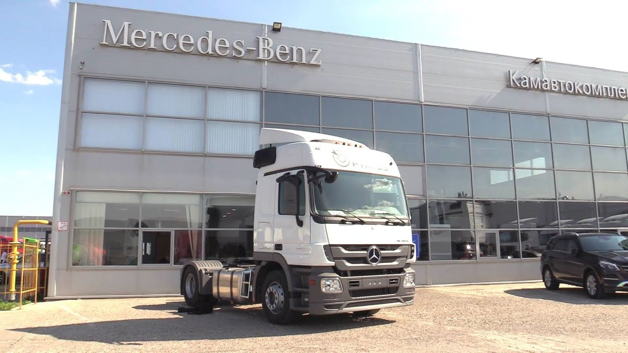 2018 Mercedes-Benz Actros 3 1841 LS OPTIMUS. Start Up, Engine, and In Depth Tour.