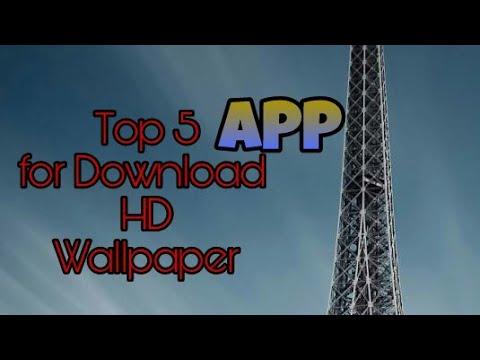 Top 5 app for download hd wallpaper