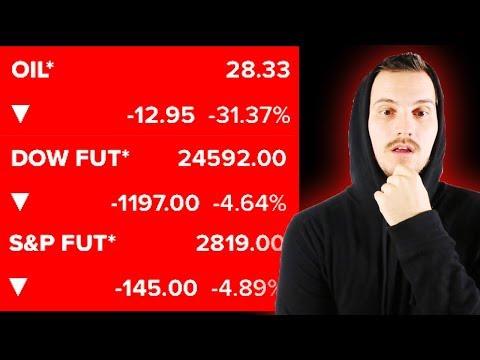 WE HAVE A HUGE PROBLEM.. oil, stock market, etc