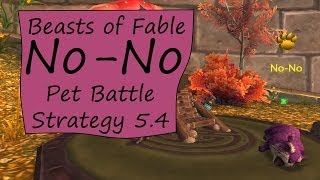 No-No: Beasts of Fable Pet Battle Guide 5.4