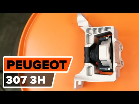 How to replace engine mount on PEUGEOT 307 (3H) [TUTORIAL AUTODOC]