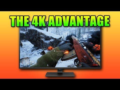 Does Gaming At 4K Give You An Advantage? | LG 4K Monitor 43UD79