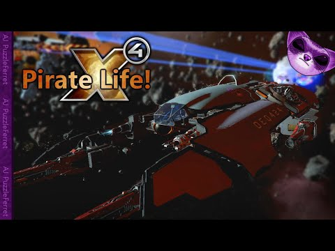 X4 Pirate Life Ep34 - Back to Second Contact and big traders!