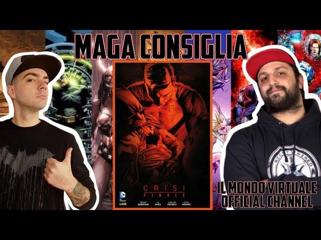 CRISI FINALE - UN COMPLICATO CAPOLAVORO DC COMICS!