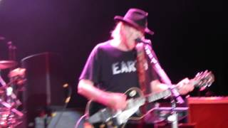 Neil Young Barolo July 21 2014 Standing In The Light Of Love 2/2