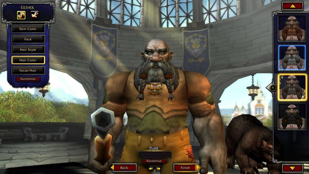 World of warcraft facial 2