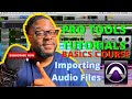 First time using Pro Tools: Importing files