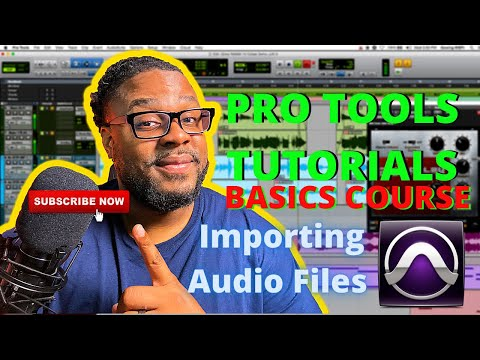 First time using Pro Tools: Importing audio files
