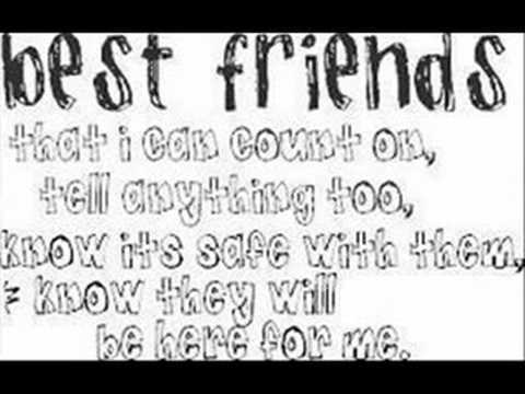 cute best friend poems re and best friends quotes x 17205 | hqdefault