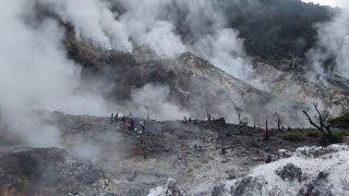 Kawah Ratu, Gunung Salak, Bogor, Indonesia