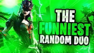 The FUNNIEST Random Duo! Fortnite Funny Troll Moments Season 6