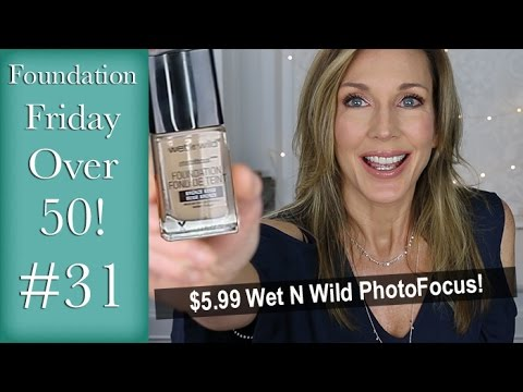 Foundation Friday Over 50 Wet N Wild PhotoFocus #31