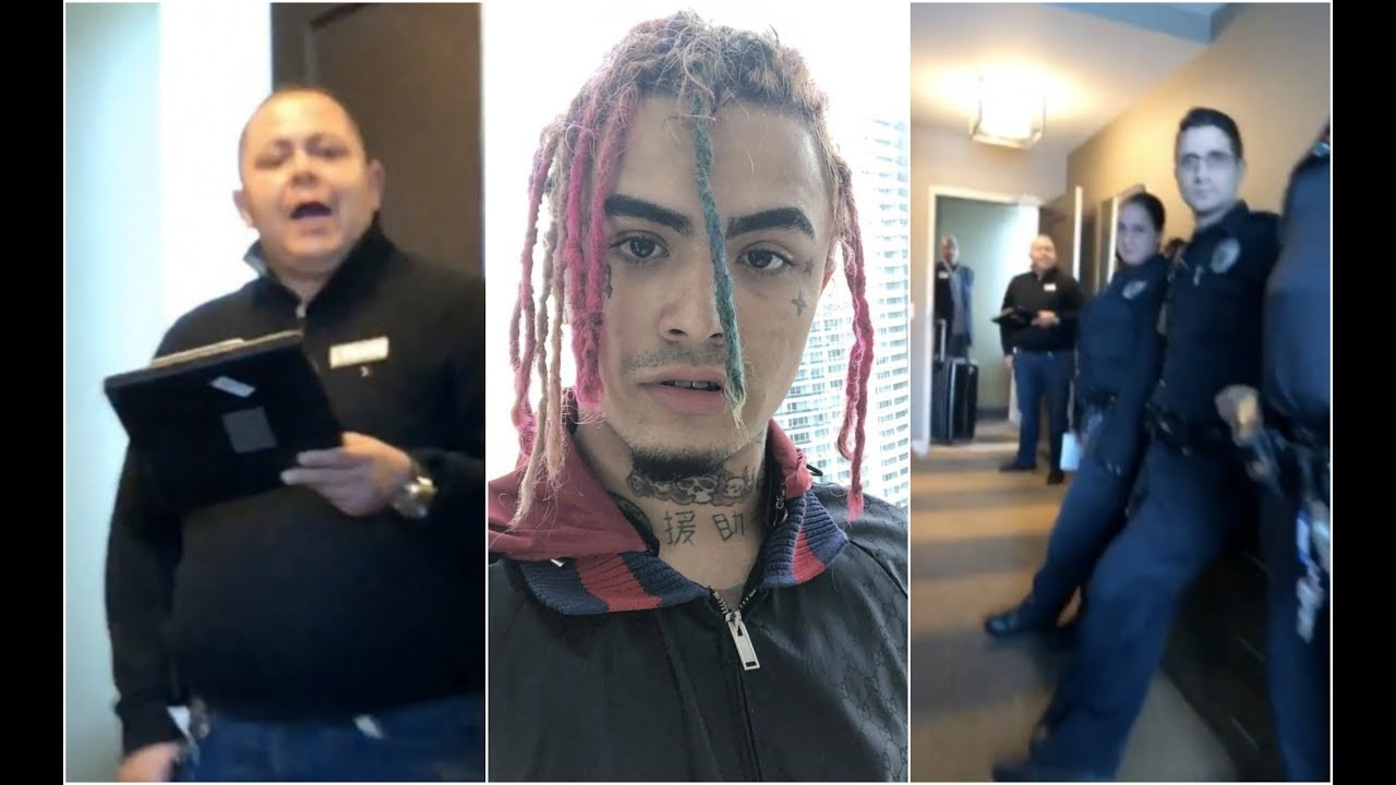 You Wont Belive How Lil Pump Talks To Police After Getting Kicked Out Hotel