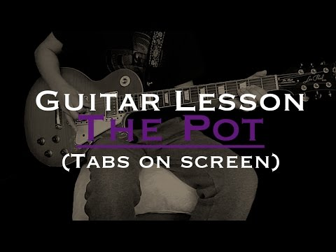 Tool - The Pot Guitar lesson with Tabs