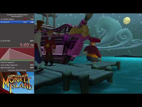 escape from monkey island abomination % 7:30.53  