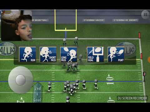 Scoring over 100 points in stickman football!