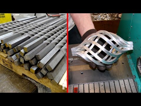 Satisfactory Machine Cutting And Bending. The Production And Processing Process is Amazing ▶2