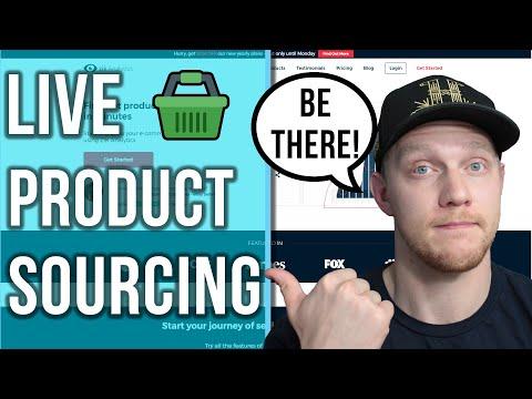 LIVE Hot Item Sourcing 🔥 With Zik Analytics - Manual Ebay Dropshipping 2020 thumbnail