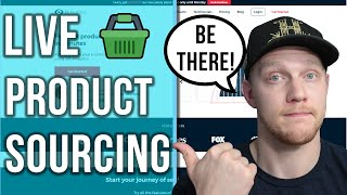 LIVE Hot Item Sourcing 🔥 With Zik Analytics - Manual Ebay Dropshipping 2019