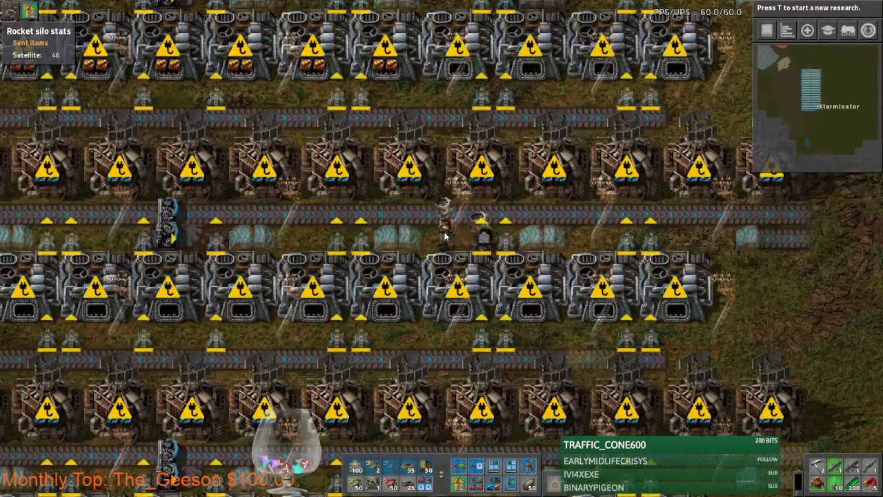 Stream Footage: Factorio Tighteing The Belt - Smelter & Circuit