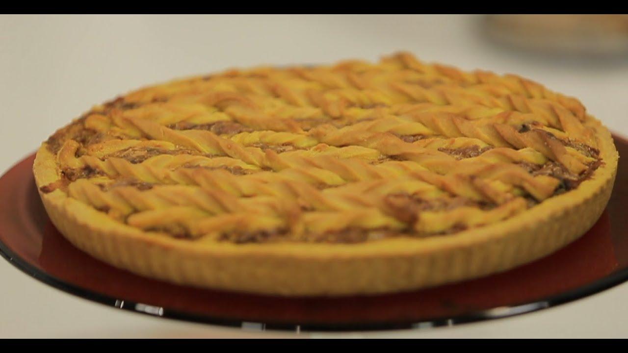تارت دجاج و خضار : رانيا الجزار