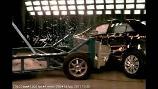 2012 Toyota Camry | Side Crash Test | CrashNet1
