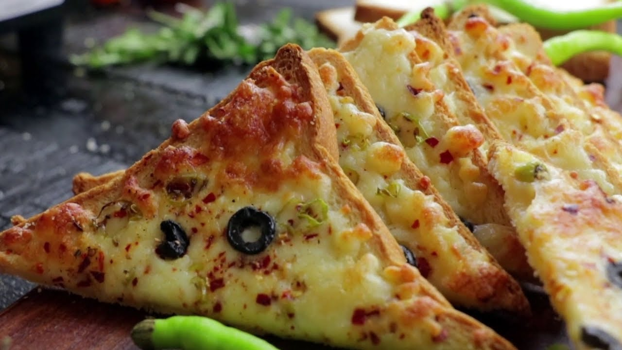 Chilli Cheese Toast Recipe - 5 Min Snack Recipe - Quick ...